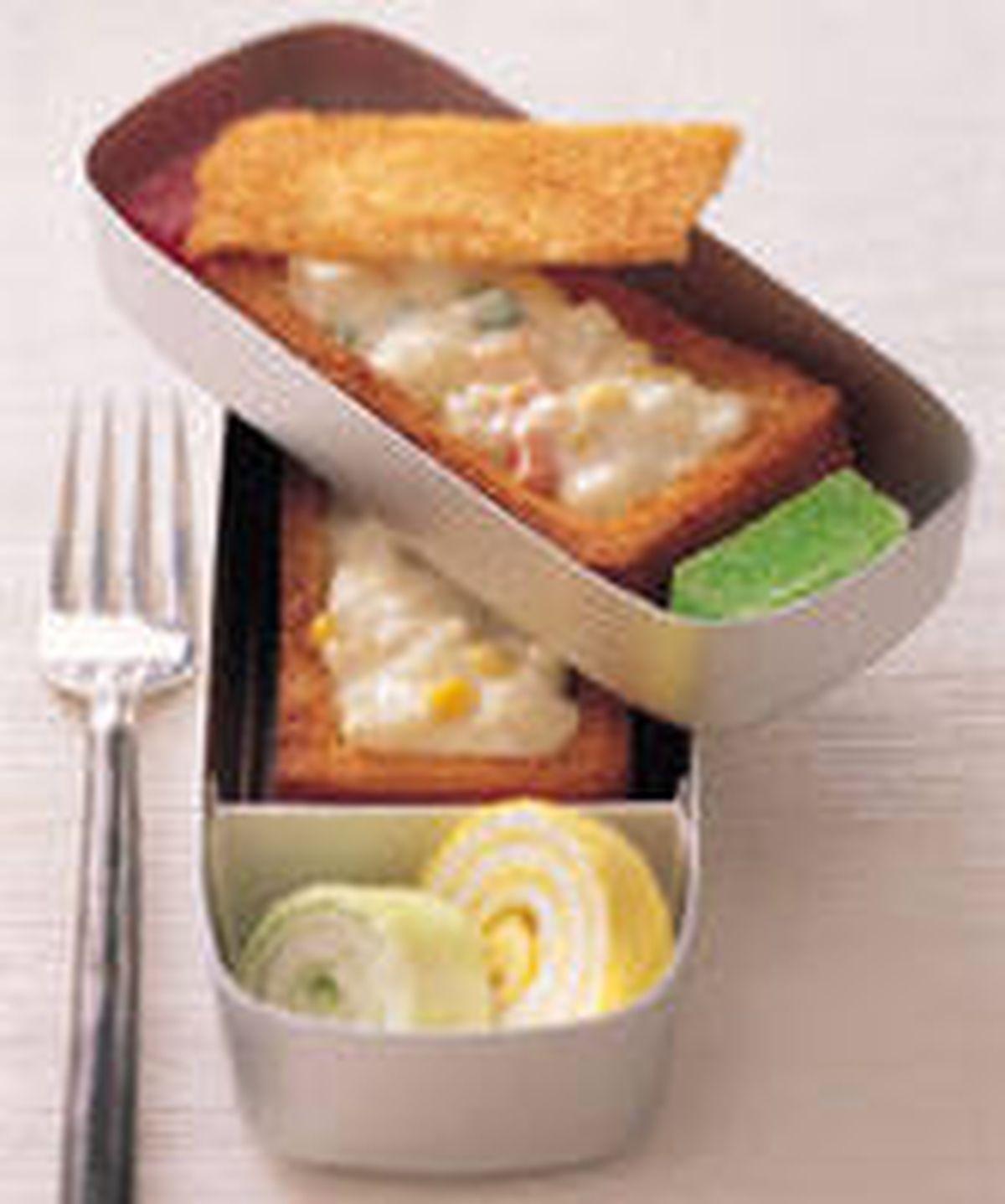 食譜:棺材板餐盒