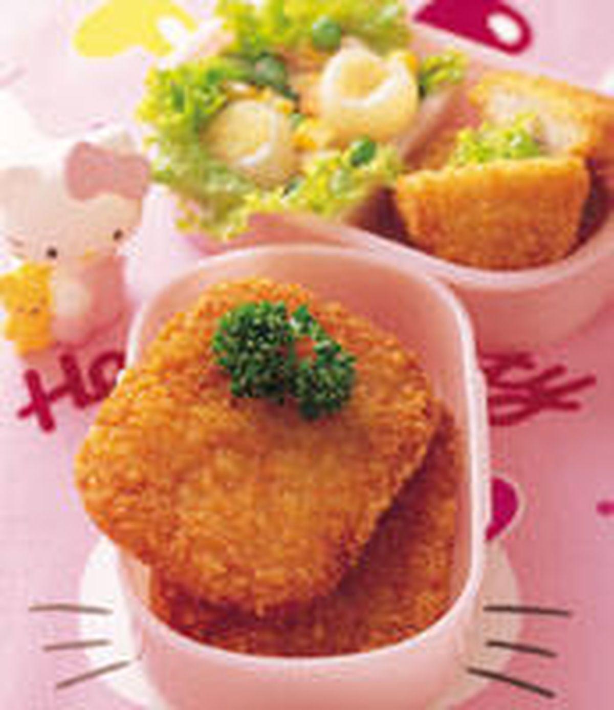 食譜:薯餅餐盒