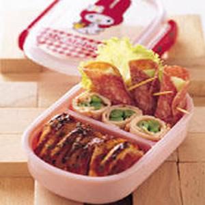西式肉捲餐盒