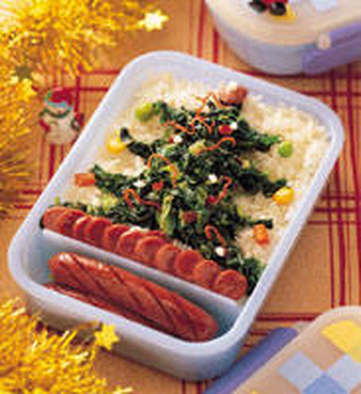 食譜:聖誕樹餐盒