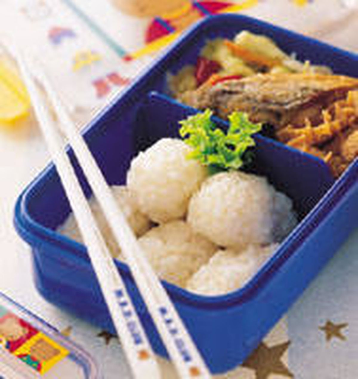 食譜:一口飯餐盒