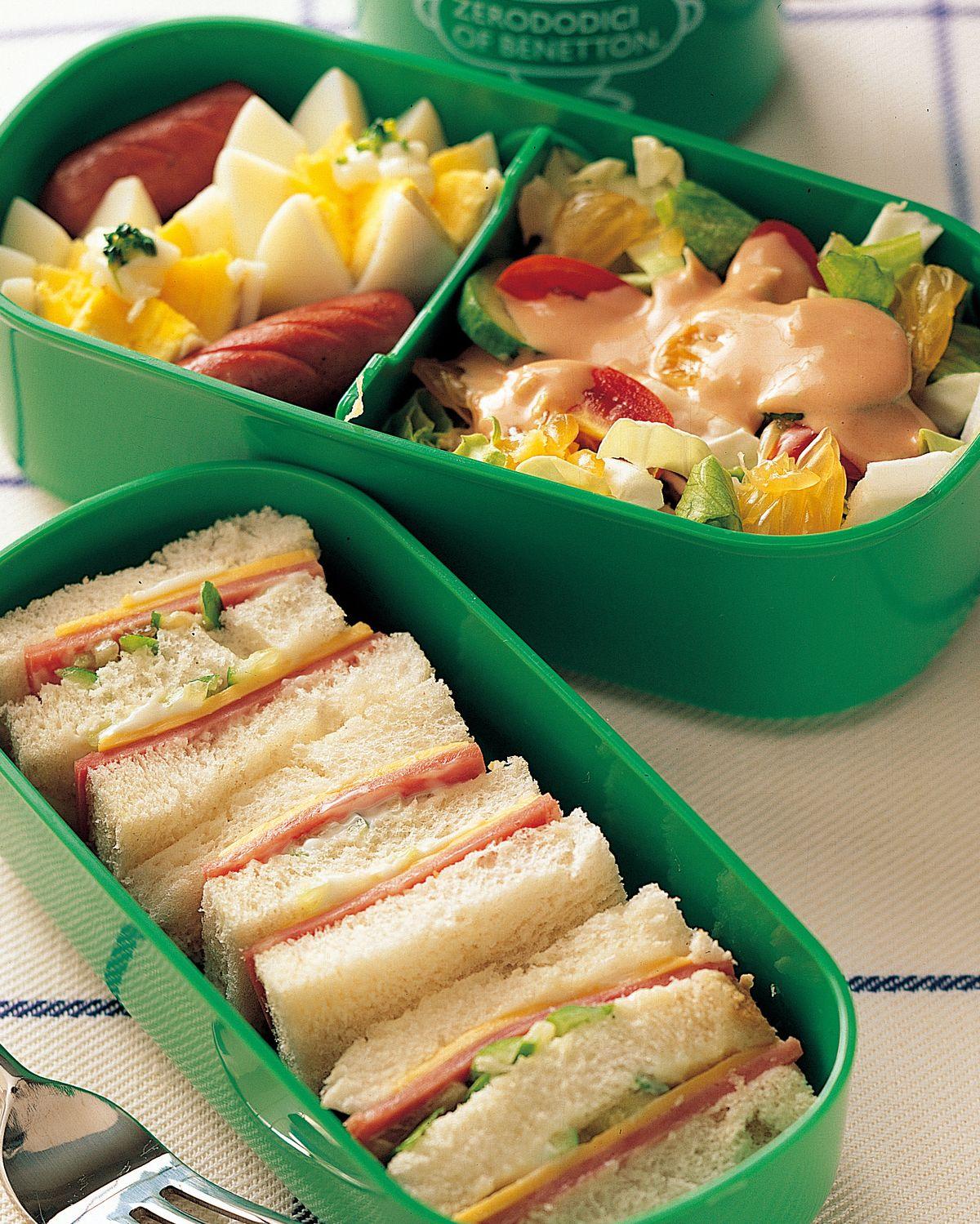 食譜:三明治餐盒
