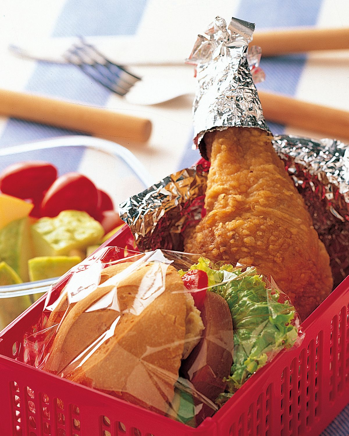 食譜:雞腿野餐盒