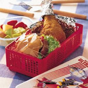 雞腿野餐盒