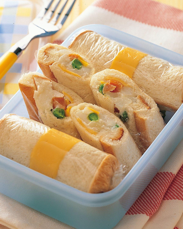 食譜:土司卷餐盒
