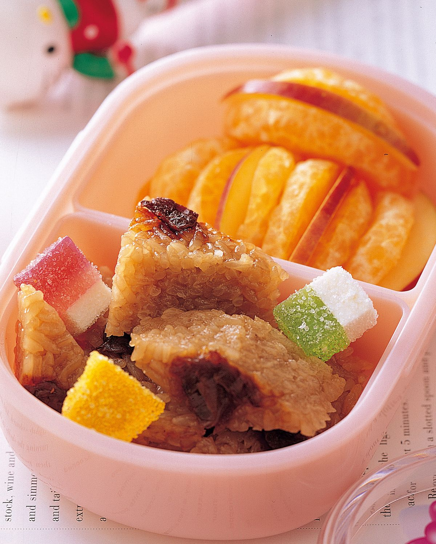 食譜:米糕水果餐盒