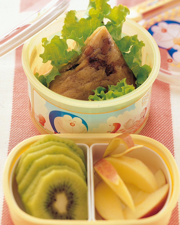 食譜:肉粽便當(台式)