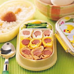 三色蛋餐盒
