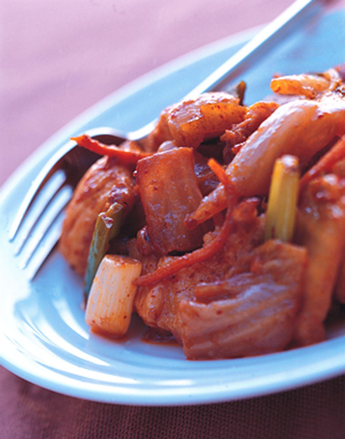 食譜:韓式炒肉