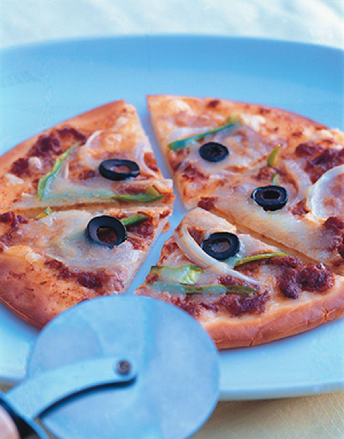 食譜:肉醬披薩