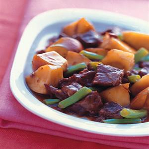 蘋果牛肉燉煮
