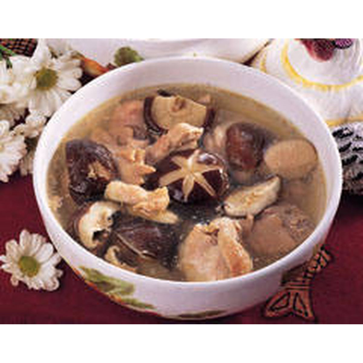 食譜:香菇燉雞