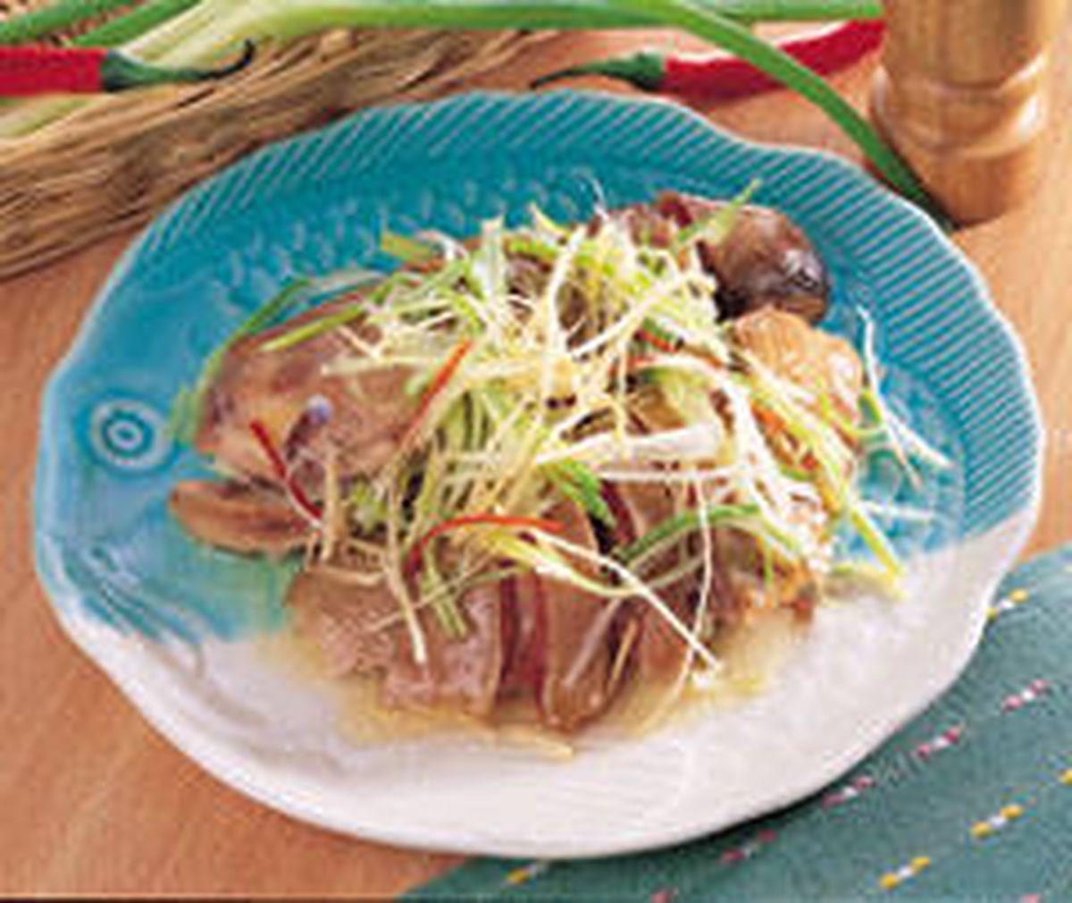 食譜:蔥油雞