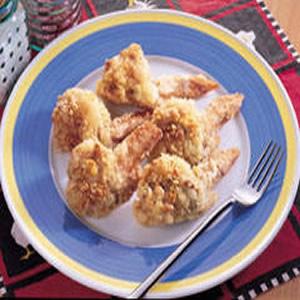 杏花酥雞翅