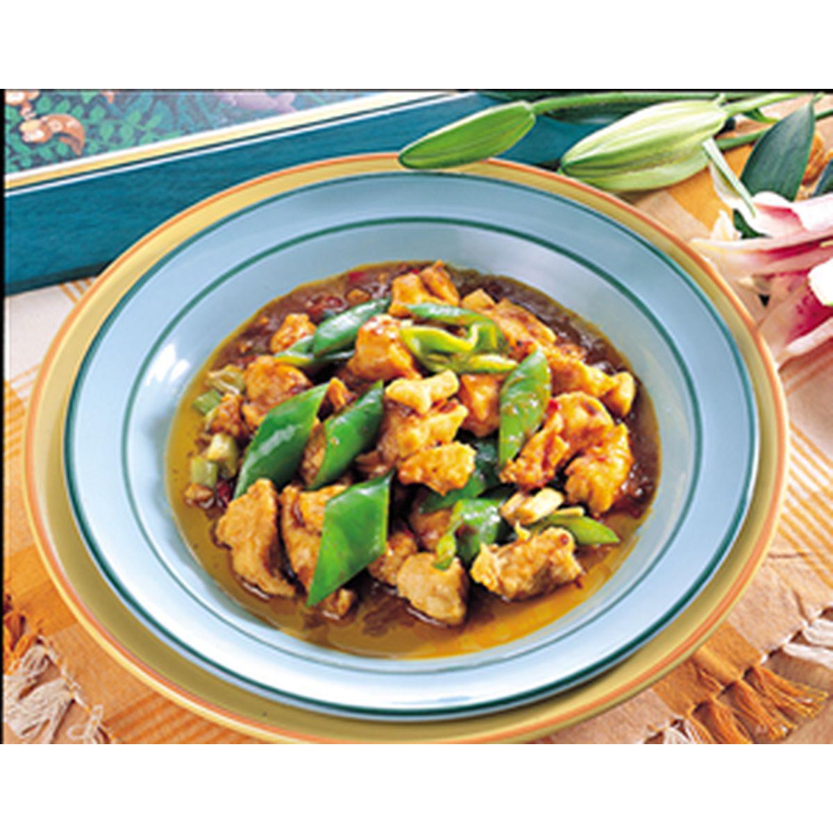 食譜:辣子雞丁(2)