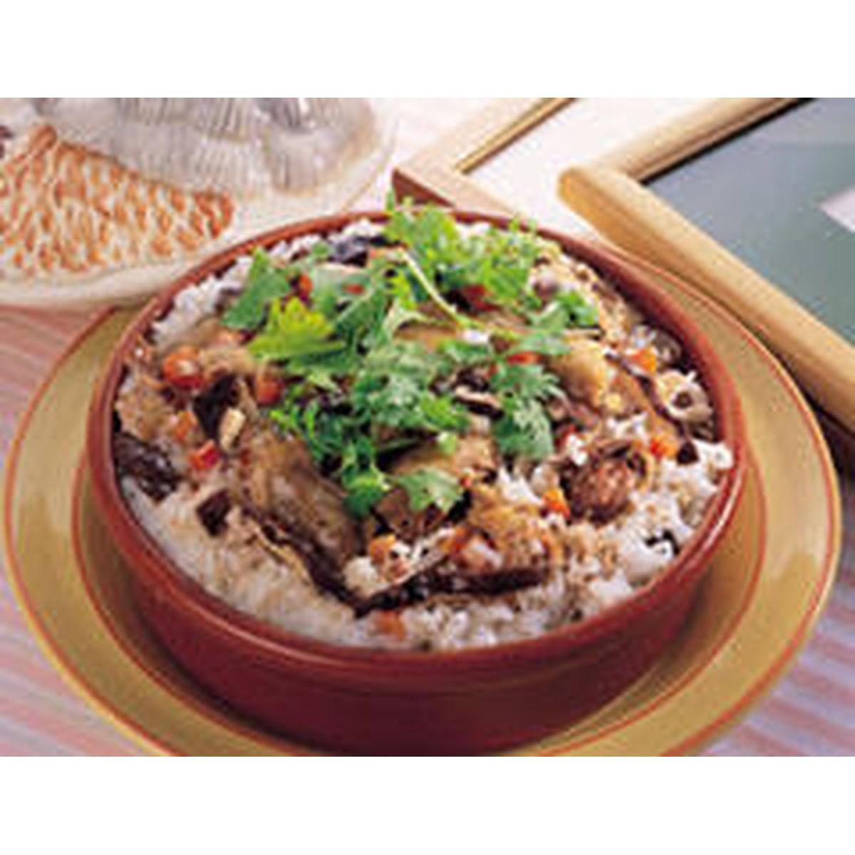 食譜:原鍋土雞飯