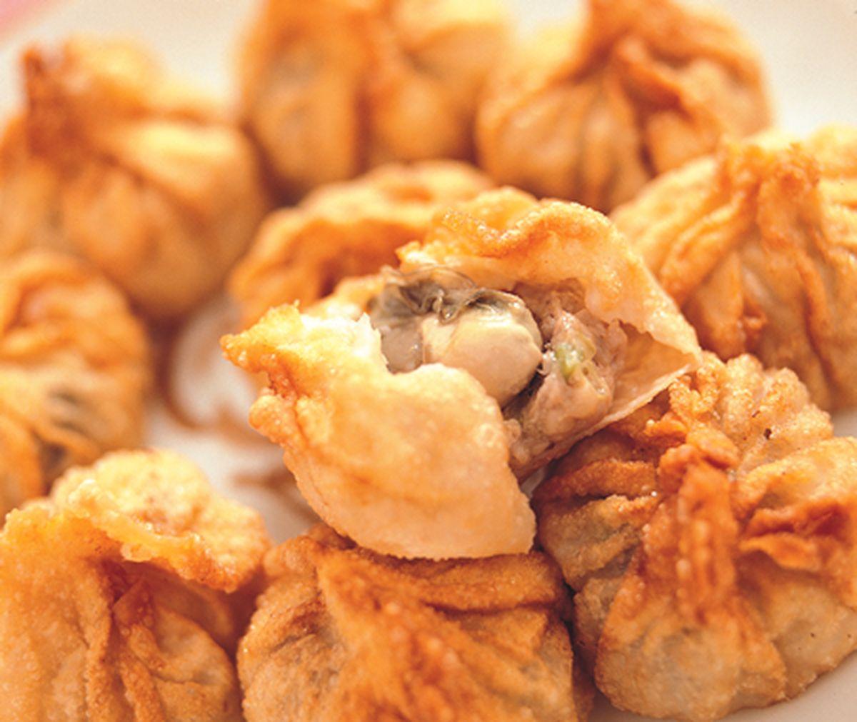 食譜:蚵仔餃