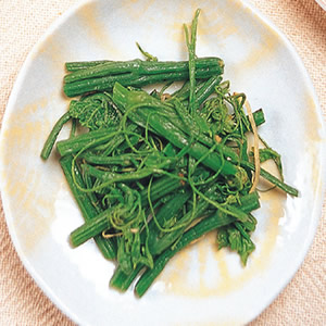 龍鬚菜炒肉絲