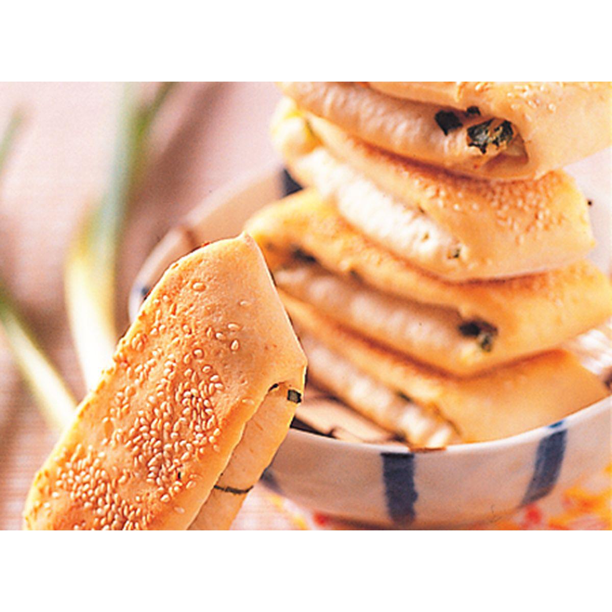 食譜:香蔥燒餅