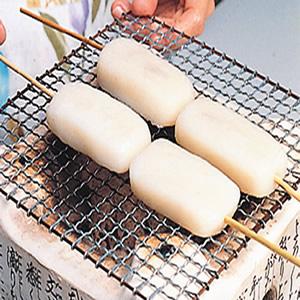 日式燒烤麻糬
