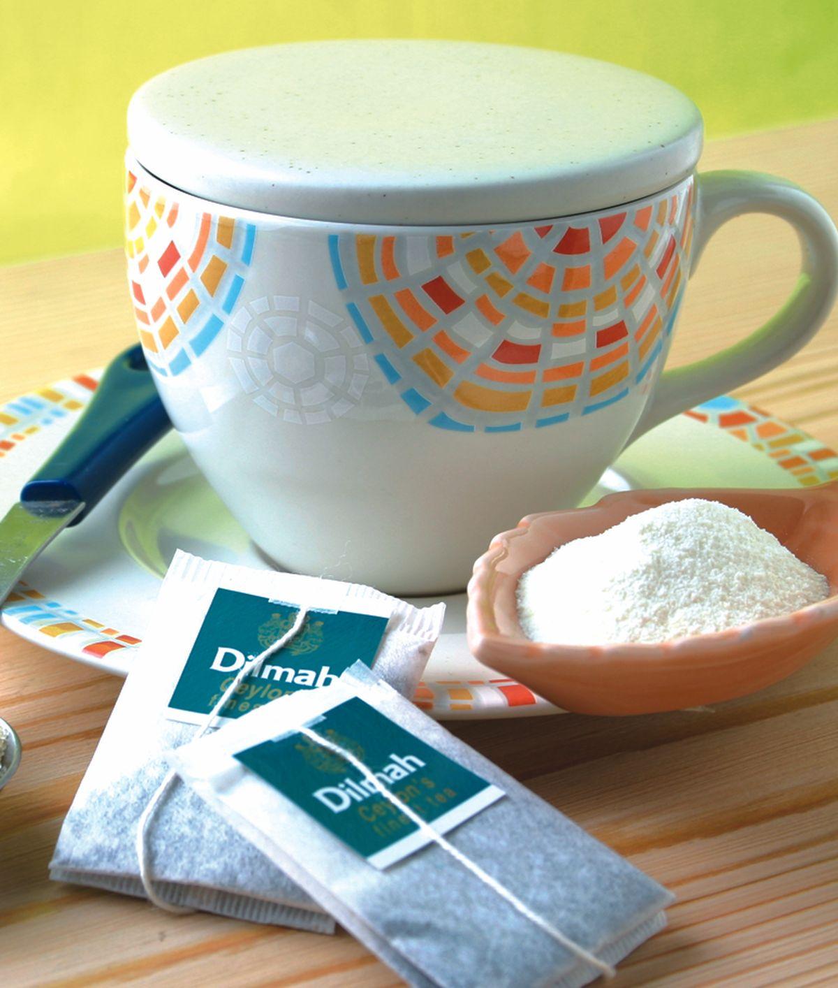 食譜:熱奶茶-茶包泡法