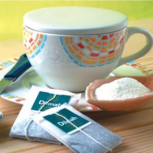 熱奶茶-茶包泡法
