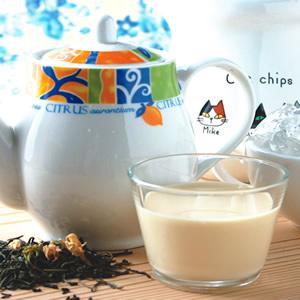 無糖冰奶茶-茶葉泡法