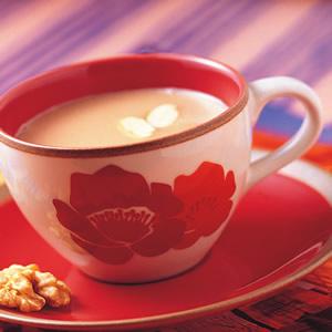 熱榛果奶茶