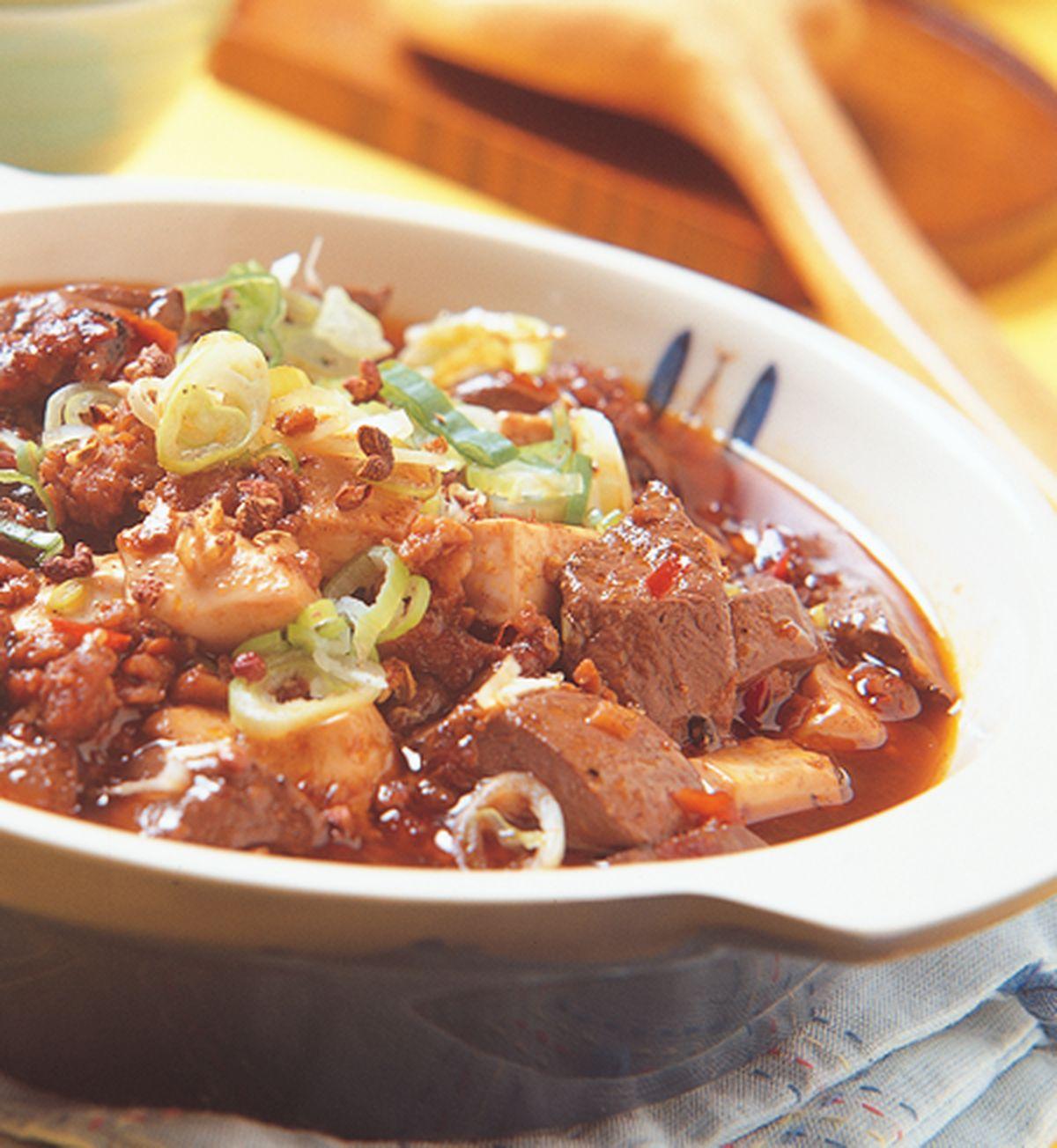 食譜:鴨血麻婆豆腐