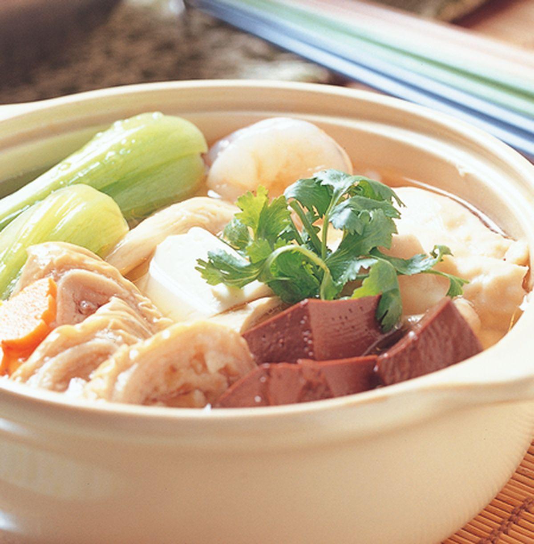 食譜:腸旺豆腐煲