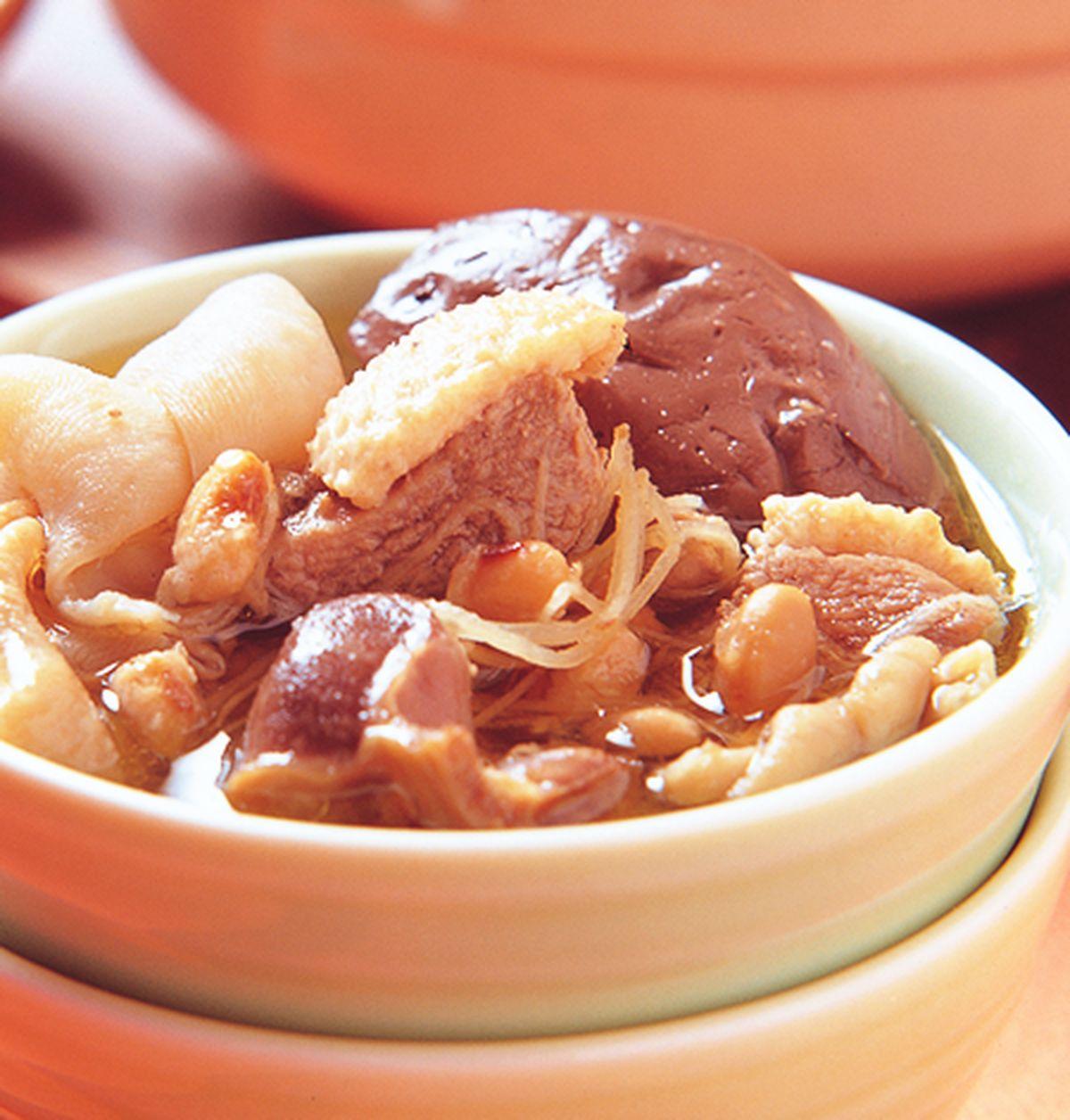 食譜:豆醬薑絲鴨雜鍋