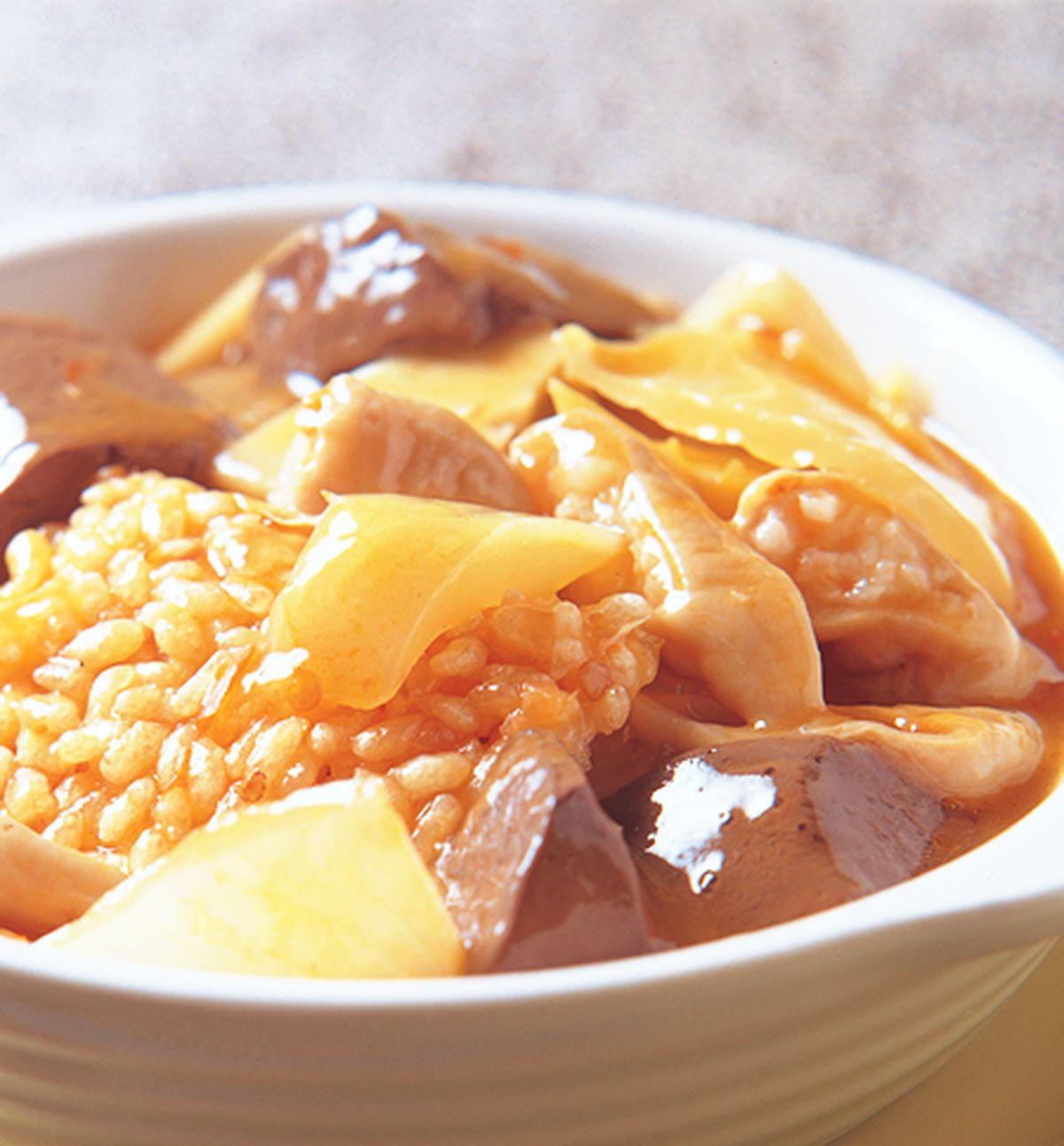 食譜:腸旺鍋巴