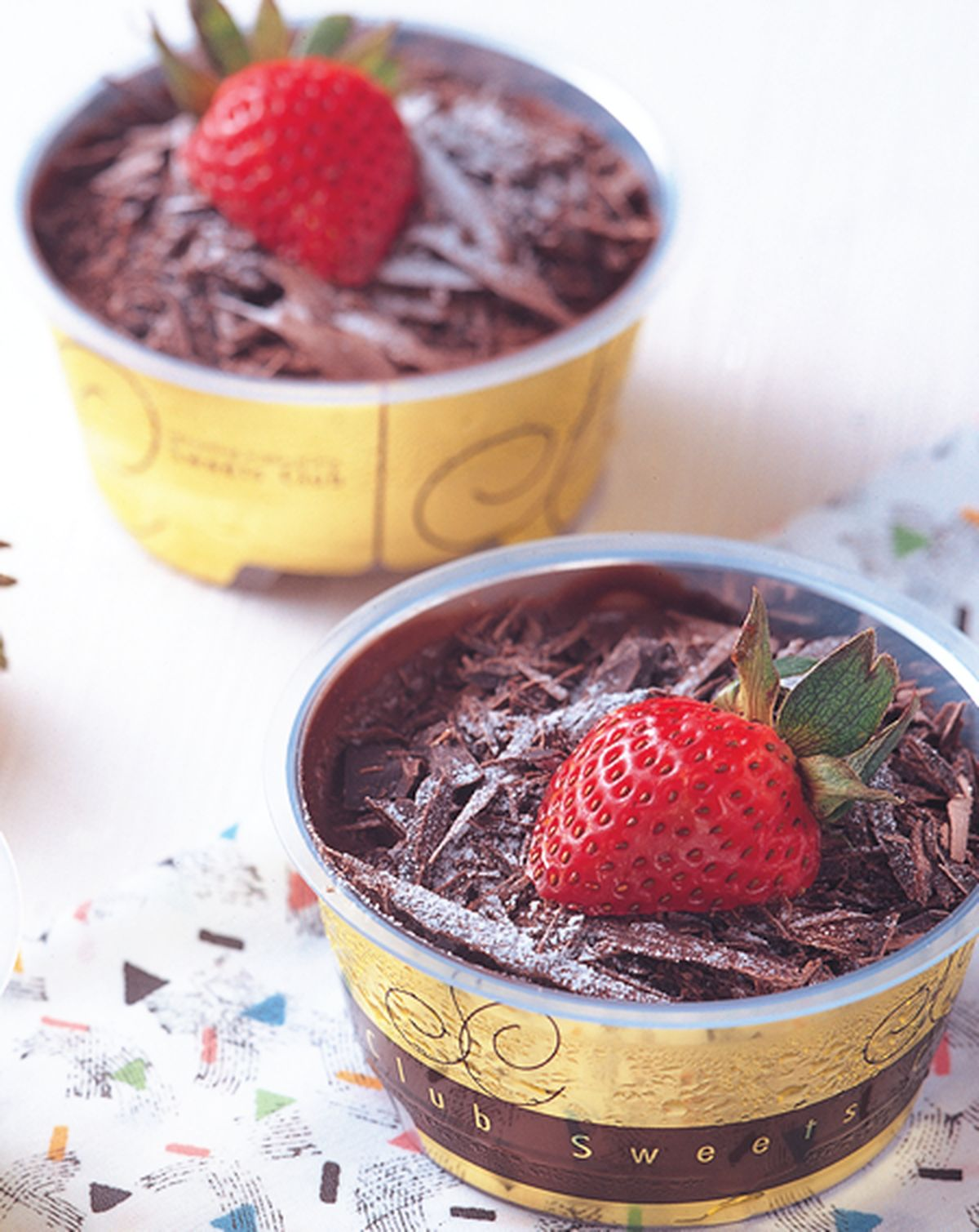 食譜:巧克力布丁