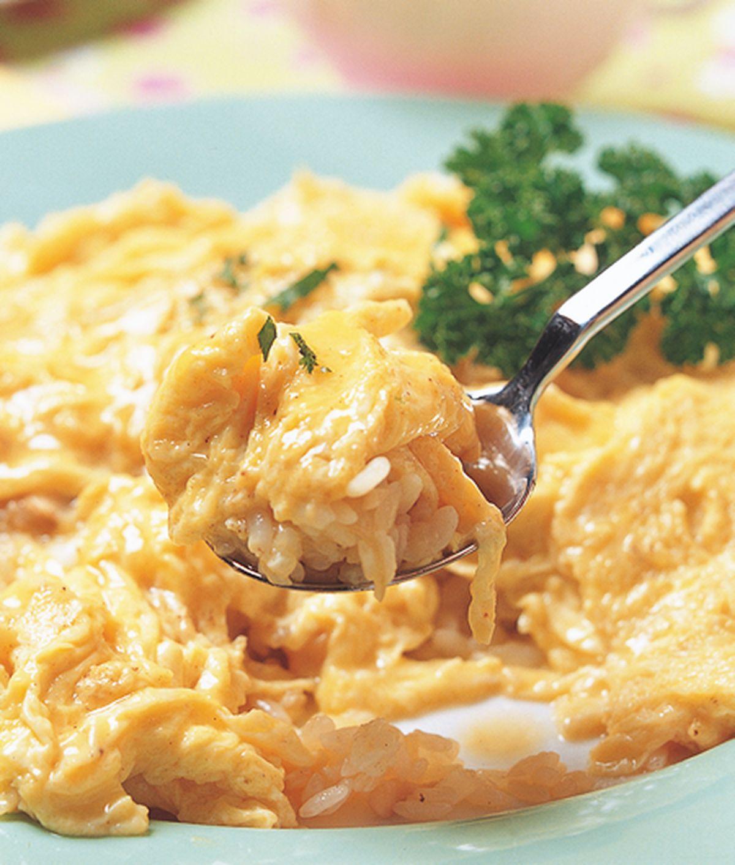 食譜:超嫩蛋包飯