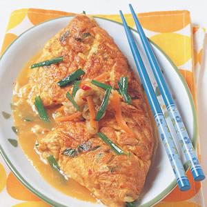 韓式風味蛋包