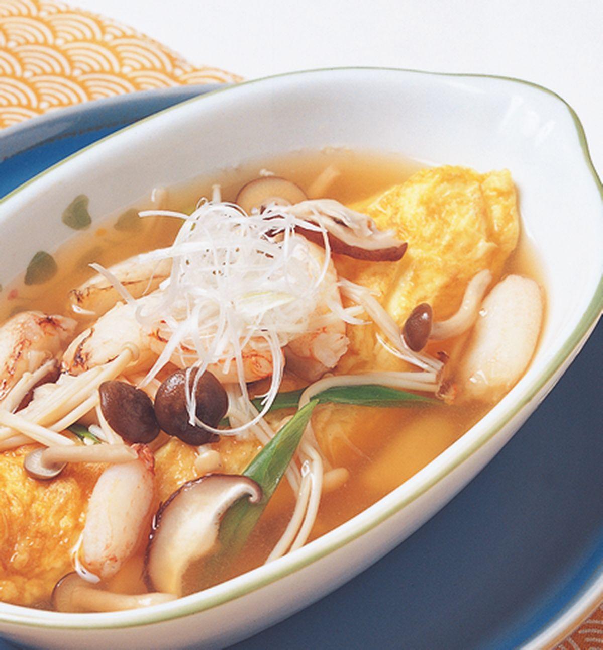 食譜:蟹肉蕈菇蛋包