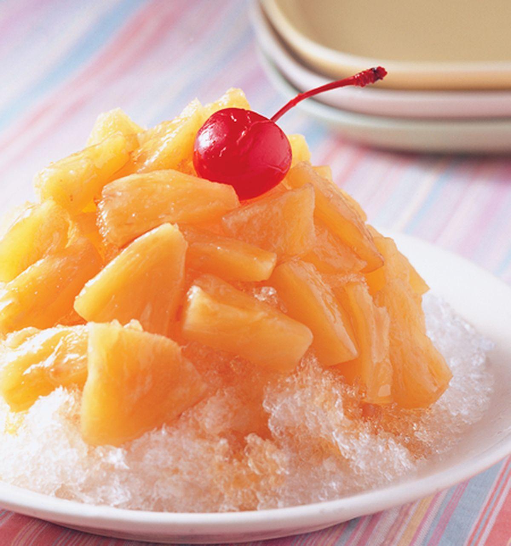 食譜:鳳梨冰