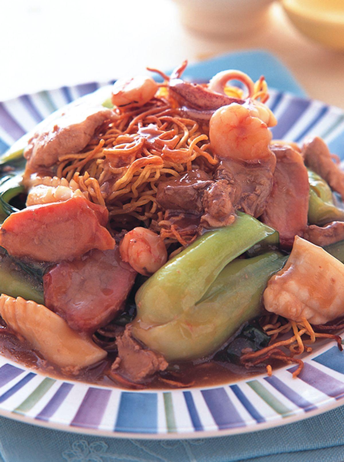 食譜:傳統廣州炒麵