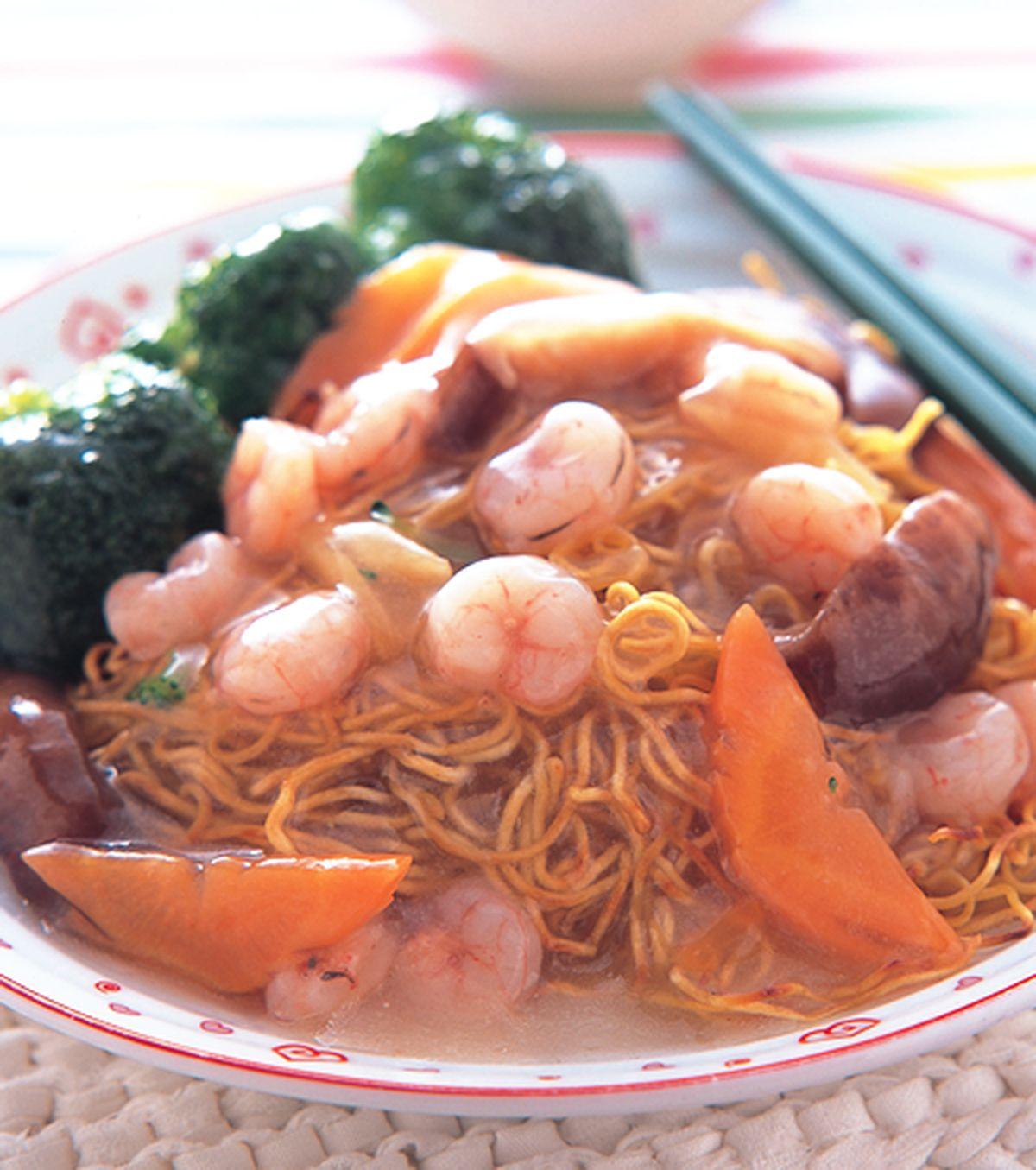 食譜:蝦仁炒麵
