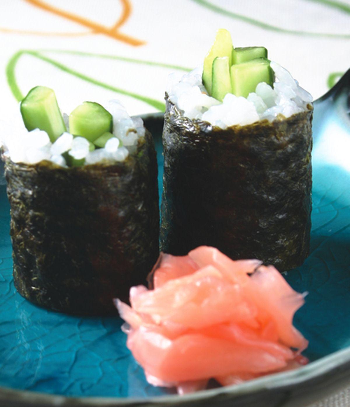 食譜:小黃瓜細卷