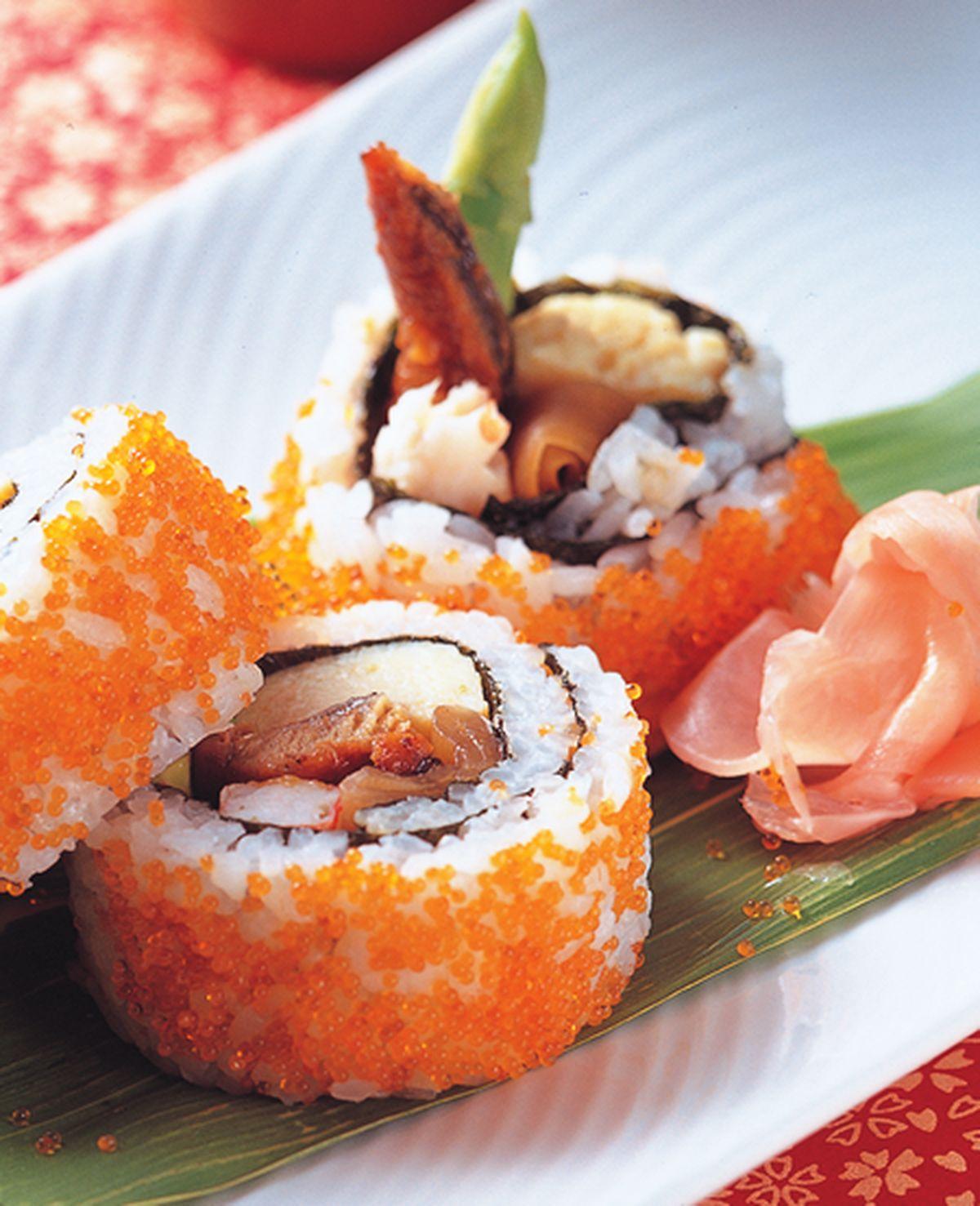 食譜:繽紛花壽司卷
