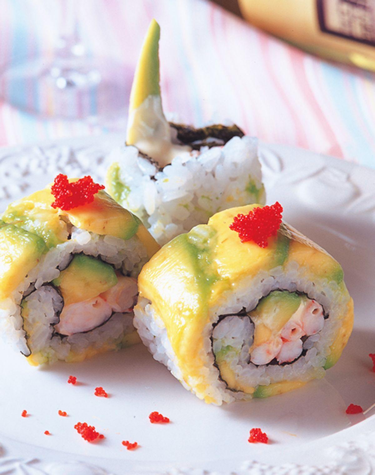 食譜:酪梨鮮蝦卷