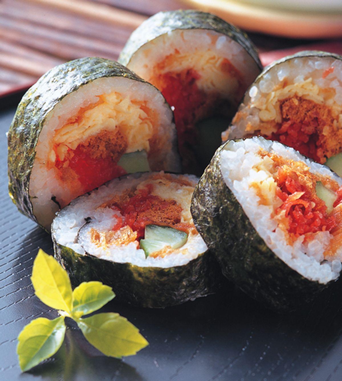 食譜:台風壽司卷