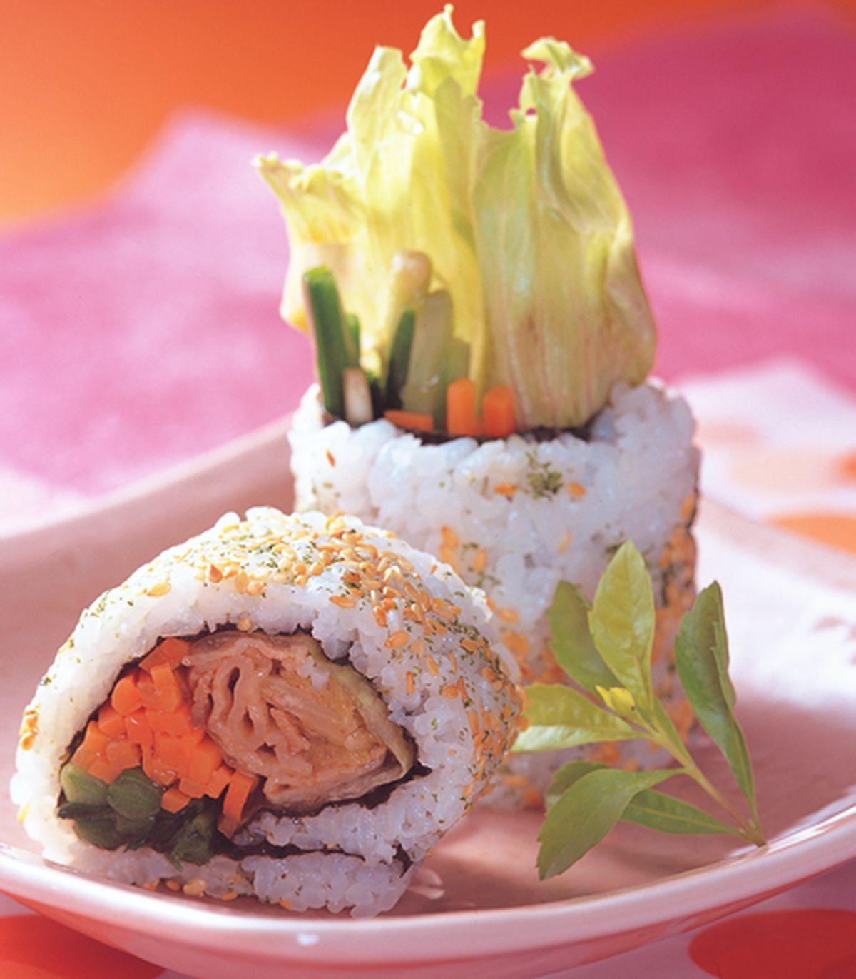 食譜:韓風壽司卷