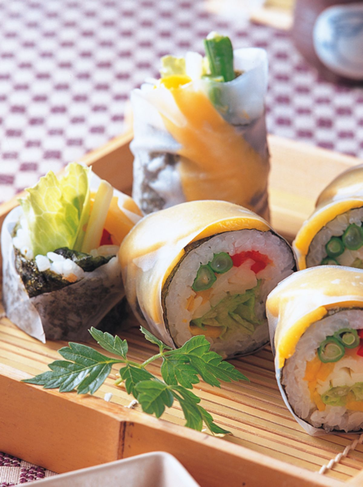 食譜:十蔬沙拉壽司卷