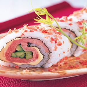 火腿起司壽司卷