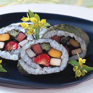 鮮果壽司卷