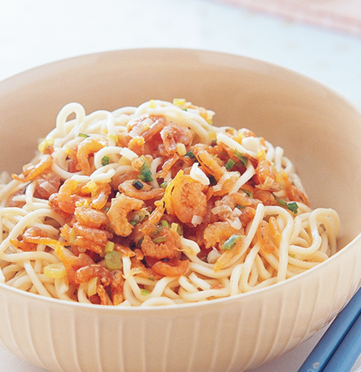 食譜:開陽蔥油拌麵