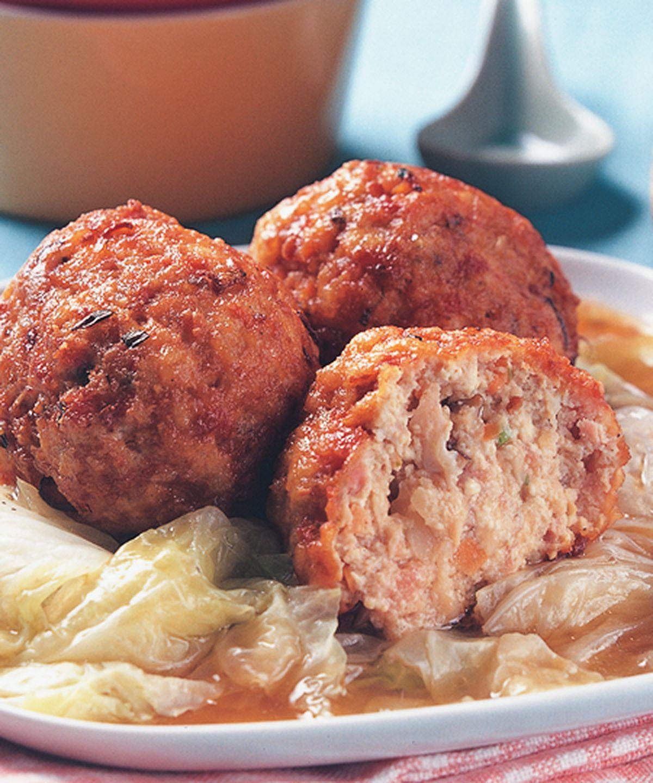 食譜:紅燒豆腐獅子頭