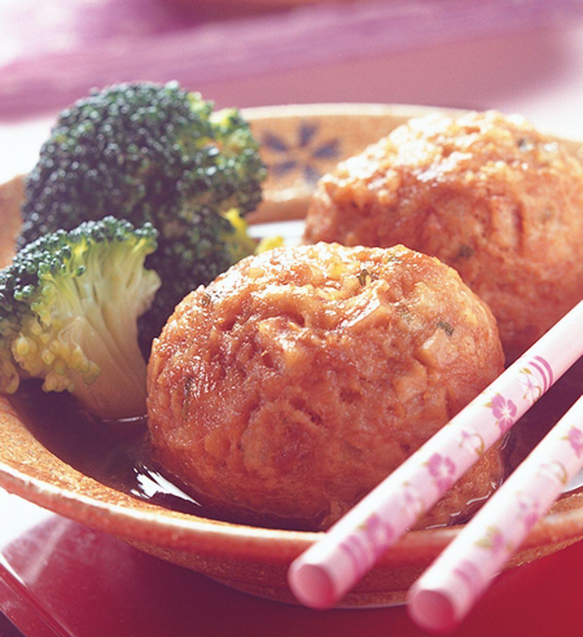 食譜:紅燒芋香獅子頭